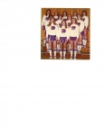 1975-1976 Edison Cheerleaders  top:  Cheryl Strack, Bradley Stickney, Patty Williams, Beth Hammond, Dawn Hyatt  Middle:
